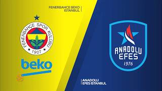 Fenerbahce Beko Istanbul - Anadolu Efes Istanbul Highlights | Turkish Airlines EuroLeague Semifinals