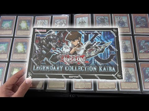 YuGiOh Legendary Collection Kaiba Box Opening & Review! .Introducing the MASTER Set. OH BABY!!