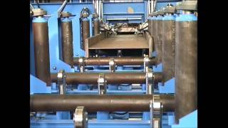 T and I-Beam manufacturing line