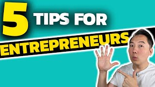John Lee's Top 5 Tips for Entrepreneurs!
