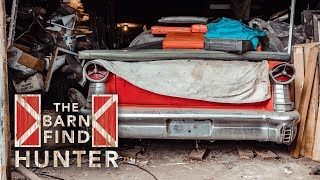 Tri-power Oldsmobile Super 88 And Forgotten Cars That Must Go! | Barn Find Hunter - Ep. 59