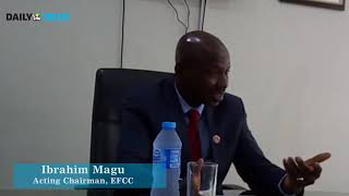 Magu speaks on non-confirmation by the senate