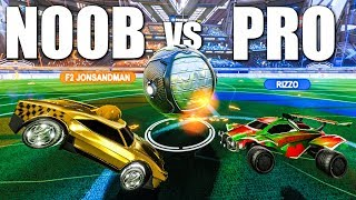 THE BEST NOOB VS PRO CHALLENGE WE HAVE EVER DONE!
