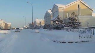 Кемерово  зимой Лесная Поляна