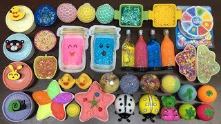 MIXING ALL MY SLIMES!!! MIXING STORE BOUGHT SLIMES AND HOMEMADE SLIME!! SLIMESMOOTHIE