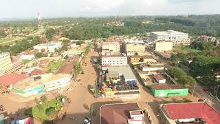 preview picture of video 'Kitale Town  Kenya Aerial View  Drone footage'