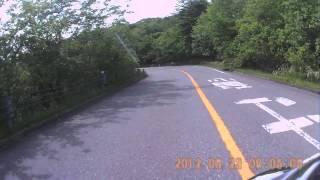 SR400で森林浴ツーリング1霧降高原道路