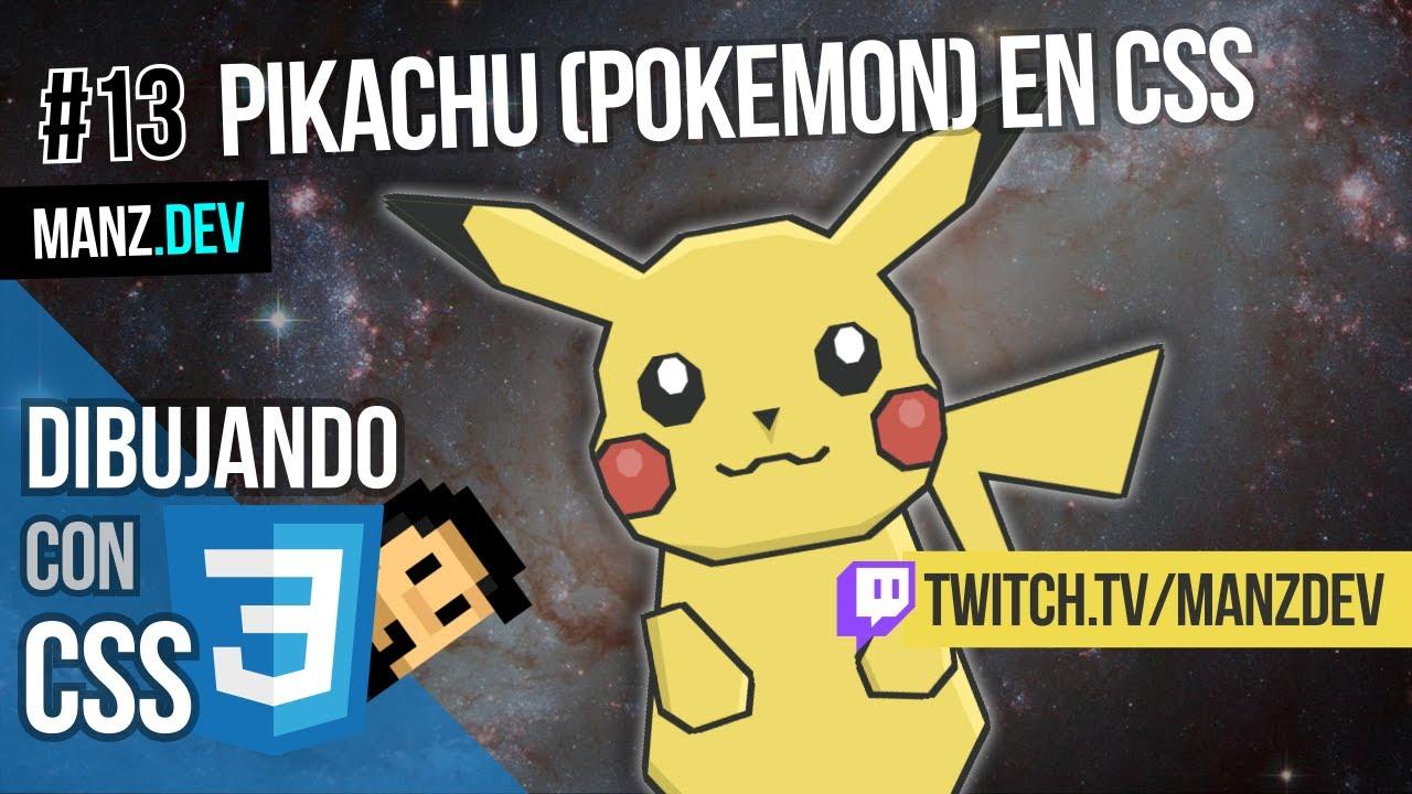 Dibujando a Pikachu (Pokémon) con CSS