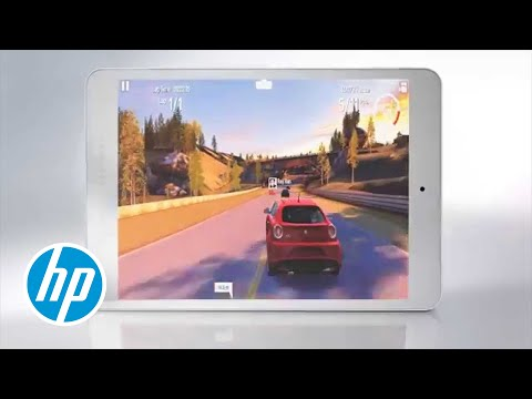 Introducing the HP 8 Tablet