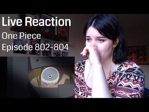 One Piece Episode 802-804 Live Reaction