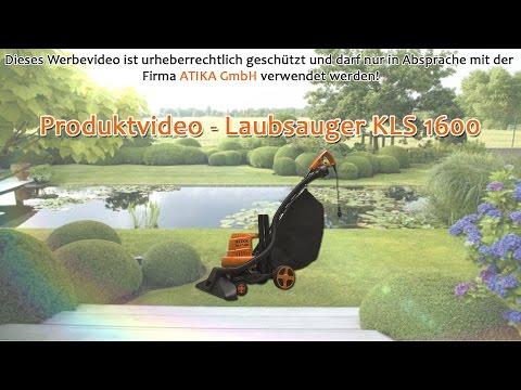 ATIKA Produktfilm - Laubsauger KLS 1600