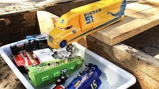 Cruz ramirez Toy Play For Children  Lightning Mcqueen Truck Dinoco Mater Toys for Kids