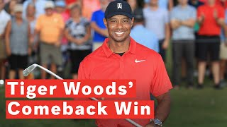Tiger Woods Wins Tour Championship For First PGA Victory Since 2013 | Kholo.pk