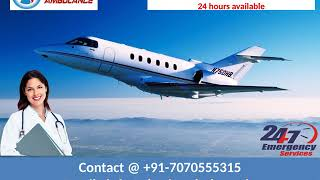 Pick Reliable Air Ambulance Service in Patna and Kolkata by Sky Ambulance