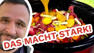 HELDEN STEAK TOPF / Beef Stew aus dem Slow Cooker --- Klaus grillt