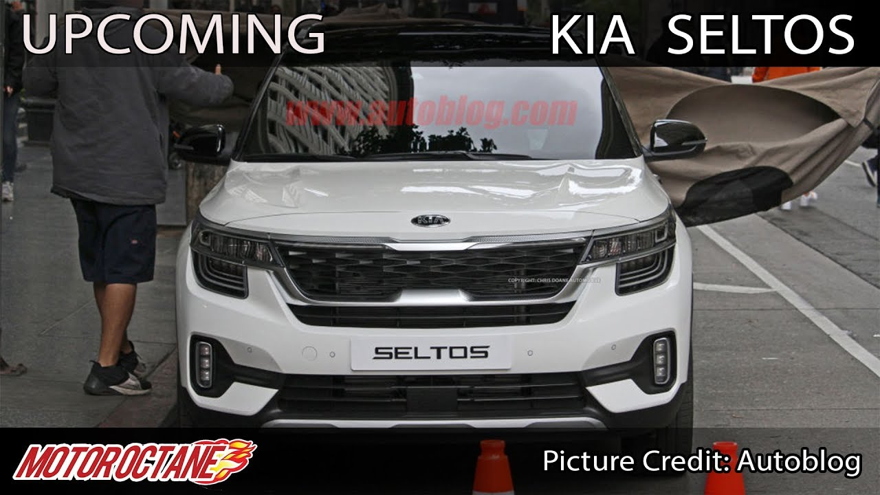 Motoroctane Youtube Video - Kia Seltos Images out - 20th June ko Unveil | Hindi | MotorOctane