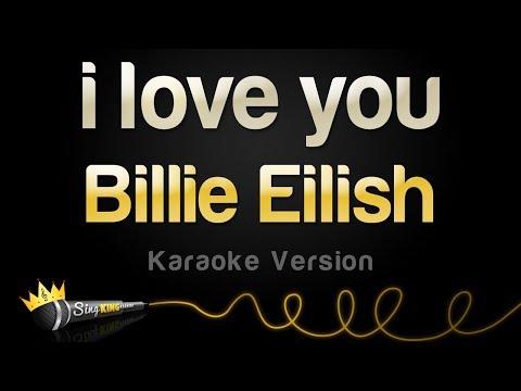 Billie Eilish - i love you (Karaoke Version)