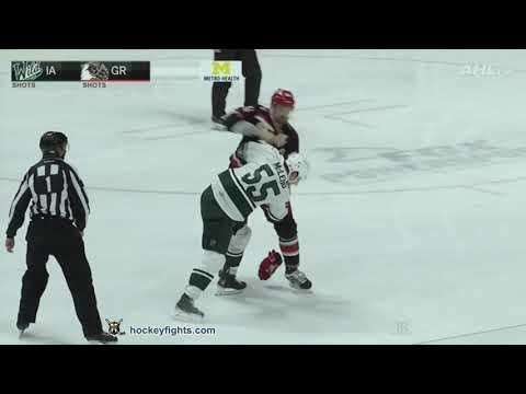 Dylan McIlrath vs. Cody McLeod
