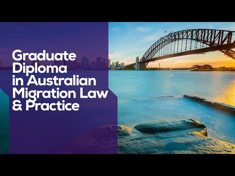 ACU I Graduate Diploma in Australian Migration Law and Practice I Flexible learning