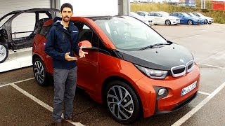 preview picture of video 'BMW i3 | Prova su strada della citycar elettrica tedesca'