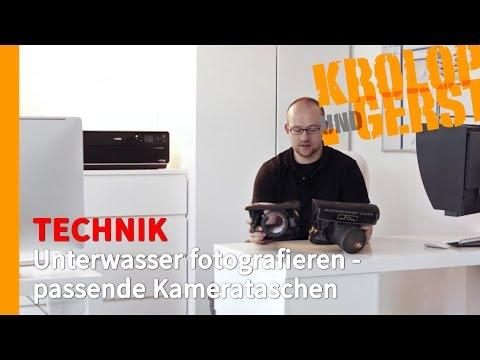 Unterwasser fotografieren - passende Kamerataschen 📷 TECHNIK 📷 Krolop&Gerst