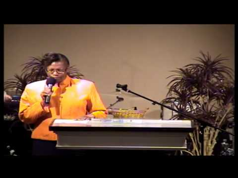 Norfolk Apostolic Church Sis Terry Singing 04-07-2013 am