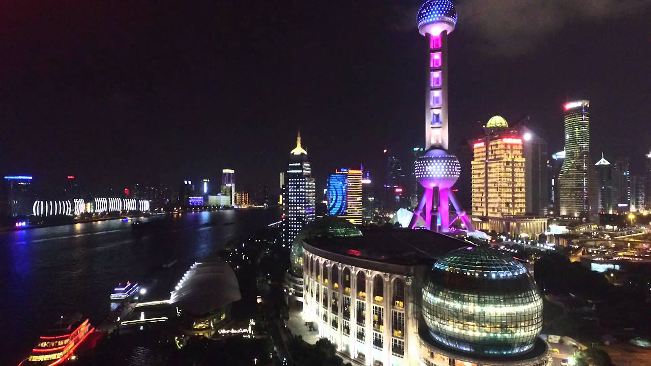 Flying around ShangHai 上海 : China travel guide videos