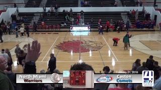 North Miami Boys Varsity Basketball vs Caston