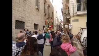 preview picture of video 'Processioni a Taranto 2014 - Santi Medici'