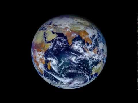 January 2013 on Earth viewed by Elektro-L