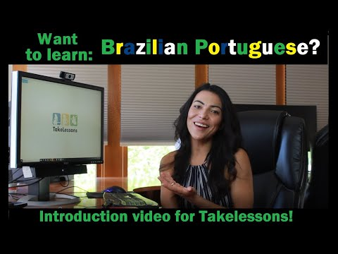 Want to learn Brazilian Portuguese in one x one lessons with me?
