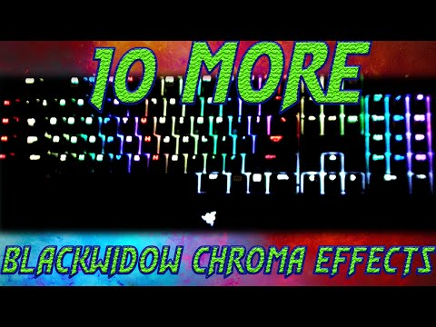 Top 15 Blackwidow Chroma Lighting Effect Profiles (With Download