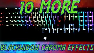 10 More Blackwidow Chroma Lighting Effect Profiles (With Download)