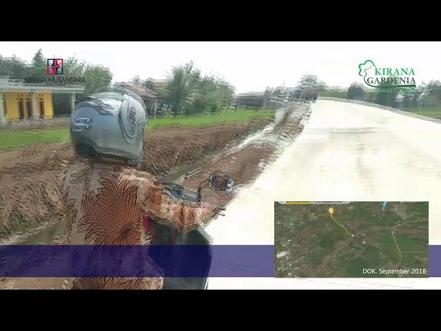 Dok. Oktober 2018 - Rute menuju Kirana Gardenia Ciomas lewat jalan tembus Lingkar Dramaga