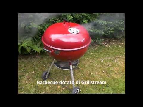 Griglia per barbecue a carbone Grillstream360