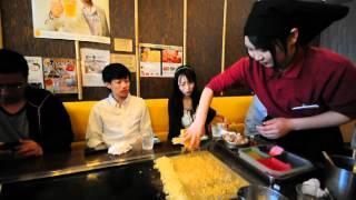 วิธีการทำ Okonomiyaki ชนิดหนึ่ง