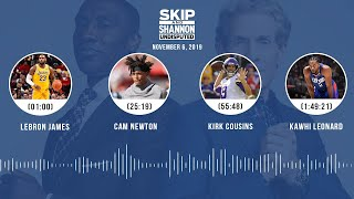 LeBron, Cam Newton, Kirk Cousins, Cowboys (Full Show)   UNDISPUTED Audio Podcast