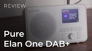 Pure Elan One DAB+ Portable Radio Review