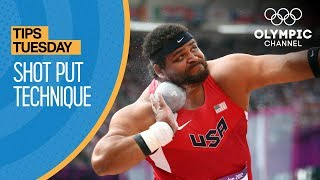 How to Throw a Shot Put ft. Reese Hoffa | Olympians