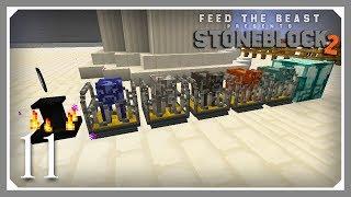 FTB Stoneblock 2 | Nether Star Farm & Base Building! | E09