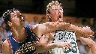 Bill Laimbeer   Dirtiest NBA Player Ever
