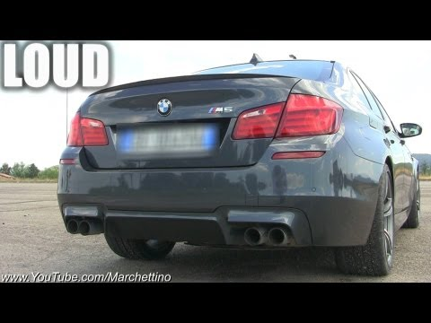 BMW M5 F10 Sounds Like a Diesel! - autoevolution