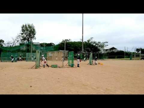 東風平中学校野球部 2017年1月その2