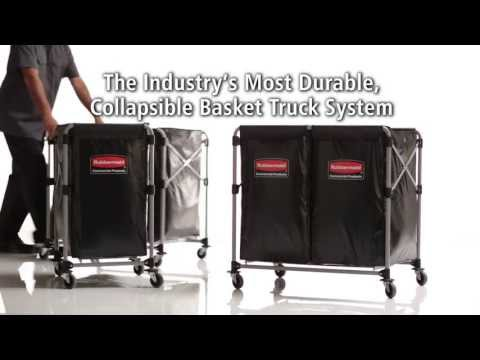 Rubbermaid Collapsible X-Cart