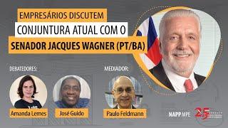 Empresários discutem conjuntura atual com o senador Jacques Wagner | NAPP-MPE