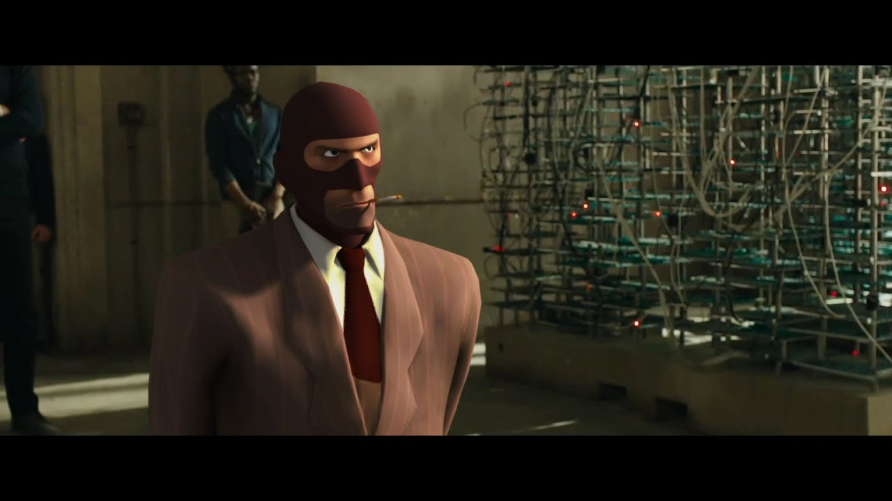 Watch The Skyfall Trailer Recreated With Team Fortress 2's Spy Character