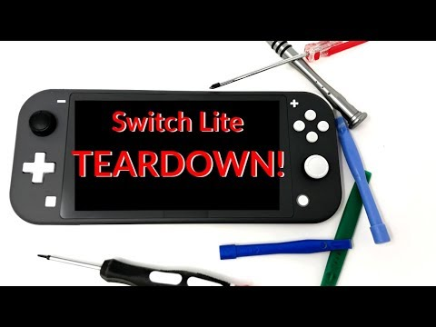 Nintendo Switch Lite Teardown - Took it Apart Before I Even Played it!