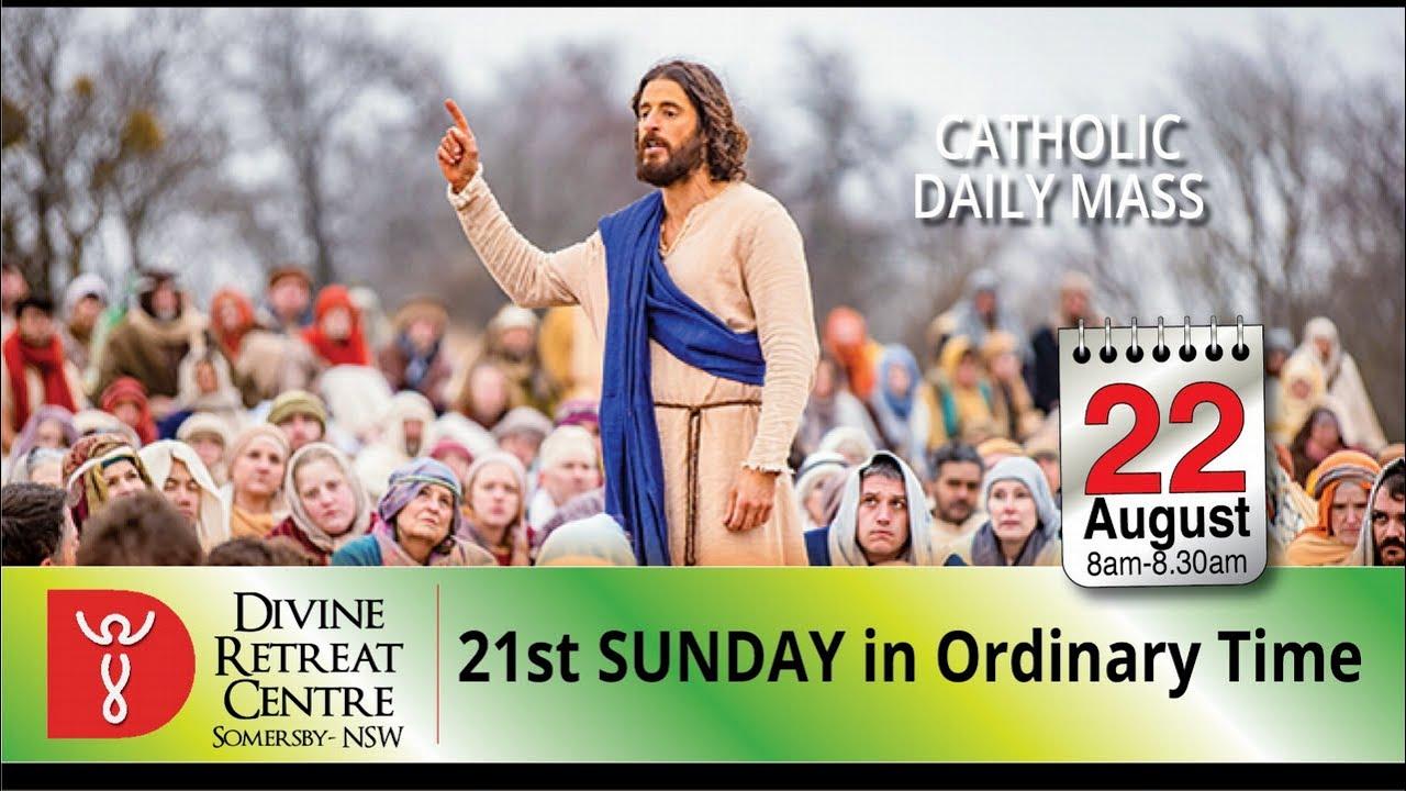 Catholic Mass Online 22nd August 2021 Divine Healing Centre Australia