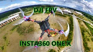 Hyperlite Floss 2 with DJI FPV CADDX VISTA AND INSTA360 ONE X