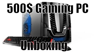 Ibuypower Black Gamer Wa550b Unboxing
